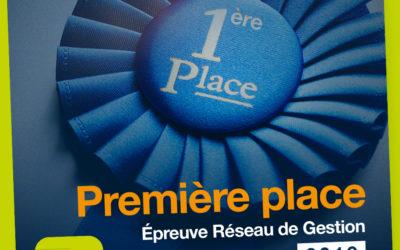 Première place sur le podium pour l'EGC Réunion en Gestion !