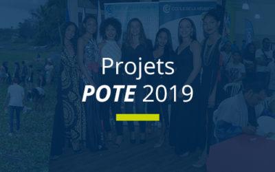 Projets POTE 2019